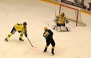Hokejisté Přerova prohráli 1:3 ve Vsetíně.