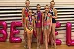 Moderní gymnastky Přerova předvedly v Lucembursku skvělé výkony