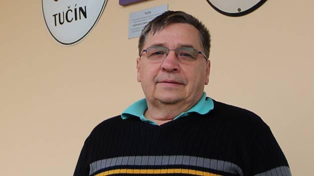 Farmář z Tučína Leoš Zdráhal.