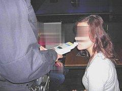 Policejní kontrola mladistvých