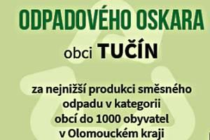 Tučín získal Odpadového Oskara.