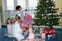 Na dětském oddělení přerovské nemocnice zůstane během Vánoc asi pět dětí