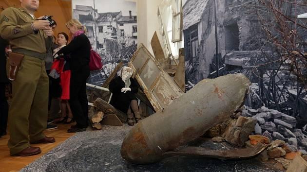 Výstava Zkáza z nebe. K 70. výročí bombardování Přerova a leteckých bojů nad Přerovskem.