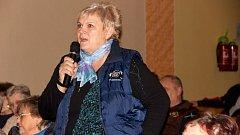 Silné emoce provázely v úterý odpoledne veřejné projednávání staveb, které se dotknou místní části Přerova Dluhonic