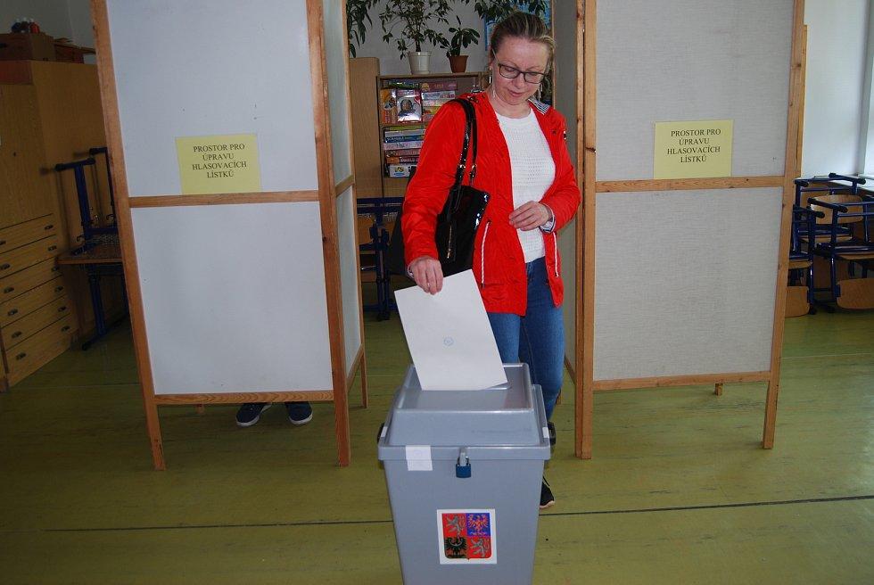 V Přerově začaly v pátek odpoledne volby do Evropského parlamentu