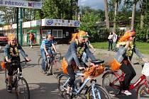 Cyklojízda v Přerově. Ilustrační foto
