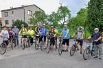 Radotínští vyrazili na  tradiční cyklovýlet.