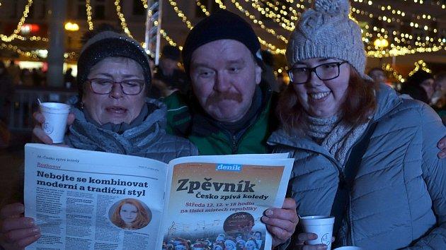 Česko zpívá koledy 2018 v Přerově