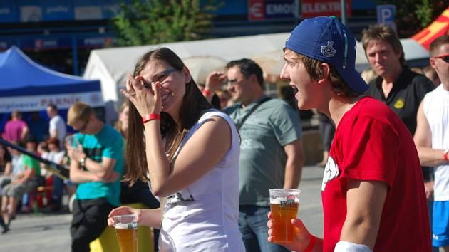 Na pivních slavnostech v Přerově vládla vždy dobrá nálada