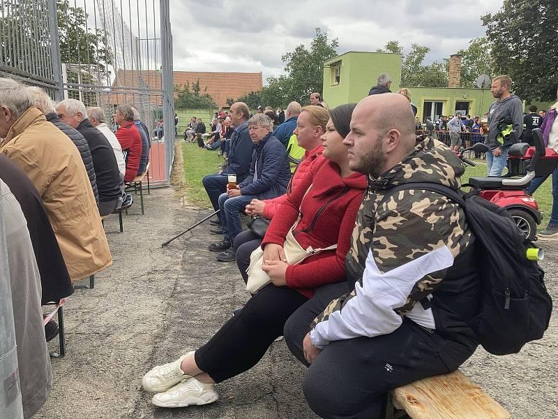 Vyvrcholení Mezizemského utkání Morava - Čechy v Rokytnici.