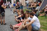 Zubrfest v sobotu přilákal do areálu přerovského pivovaru tisíce lidí.