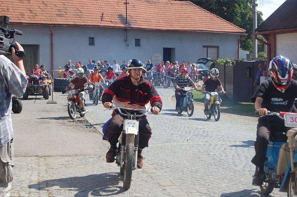 5. ročník závodu Žhavé rozety v Radslavicích na Přerovsku.