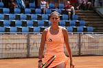 Čtvrtý den hlavní soutěže turnaje ITF s dotací 25 000 amerických dolarů. Chantal Škamlová