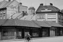 Žerotínovo náměstí v minulosti