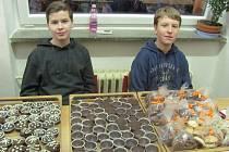 Základní škola Želatovská si opět připravila vánoční jarmark.