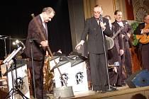 Koncert Ondřeje Havelky v sále Městského domu v Přerově