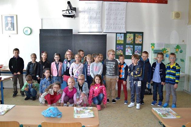 Žáci 1.B ze ZŠ UTenisu vPřerově