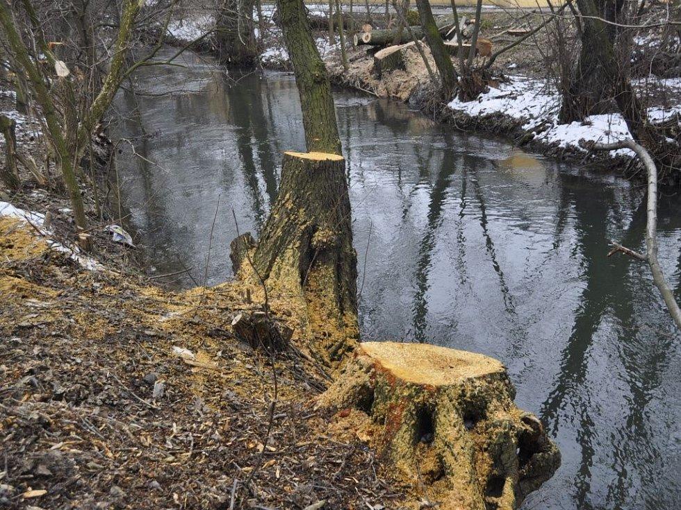 Potok Strhanec. Ilustrační foto