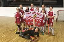 Mladší žákyně FBC Hranice ovládly domácí turnaj.