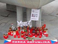 Pietní vzpomínka v Přerově na tragicky zesnulé hokejisty
