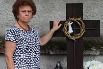 Mária Pafčugová z Trenčína. Na Švédských šancích zabili 35 členů její rodiny