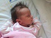 Tereza Handlová, Kojetín, narozena dne 15. června vPřerově, míra 51 cm, váha 3764 g