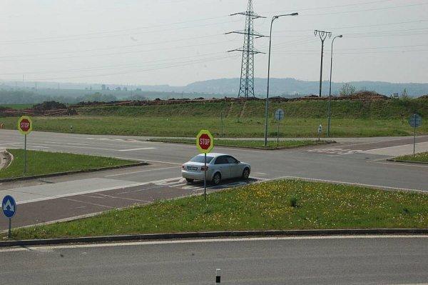 Křižovatka Na Horecku uLipníka nad Bečvou