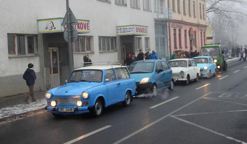 Silvestrovská otužilecká show v Přerově