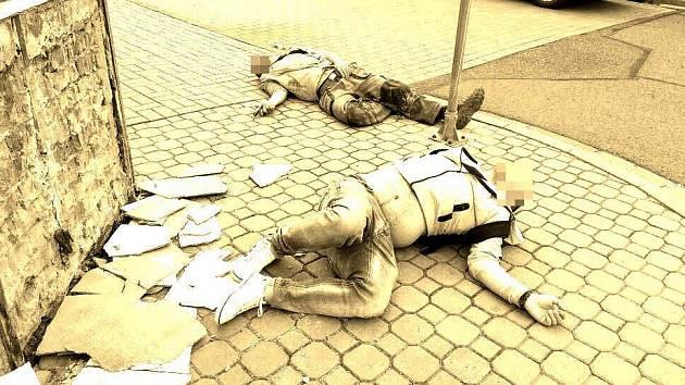 Obyvatelé Přerova zalarmovali strážníky kvůli opilcům, kteří si ustlali na zemi. Mysleli si, že se stalo neštěstí.