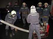 Osečtí hasiči při mezinárodní soutěži Radslavická přilba, ve které zvítězili