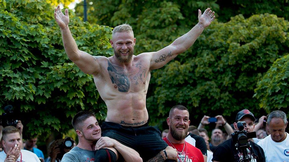 Jiří Tkadlčík na World's Ultimate Strongman Champoinship v Přerově