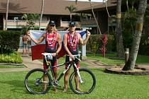 Jiří Klíma (vlevo) a Václav Klakurka se zúčastnili MS v Xteře na Havaji