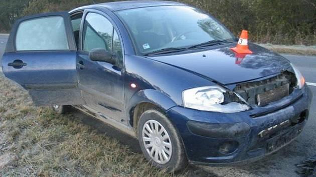Řidič, který projížděl po silnici mezi Boškovem a Potštátem, srazil dvě srny. Na místě uhynuly.