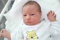 Jaroslav Kynstler, Přerov, narozen 25. května 2019 v Přerově, míra 50 cm, váha 3276 g