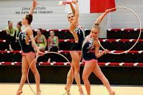Moderní gymnastky TJ Spartak Přerov v kategorii seniorek vybojovaly stříbro na MČR v Karlových Varech.