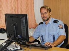 Policista Vojtěch Školudík