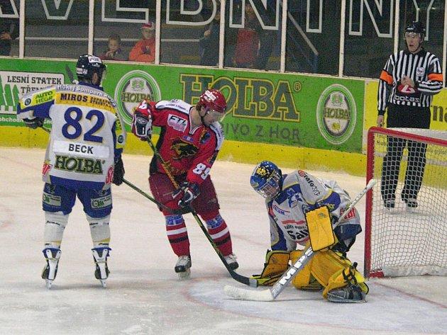 Bezradní Jestřábi vstřelili ledě outsidera jediný gól.