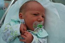 Roman Kašpárek, Bezuchov, narozen 20. prosince 2010 v Přerově, míra 48 cm, váha 3 340 g
