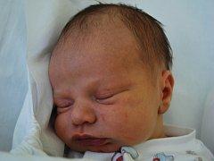 Adam Kučírek, Hranice, narozen 17. dubna 2012 ve Přerově, míra 52 cm, váha 3 820 g