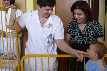 Monitory dechu v hranické nemocnici