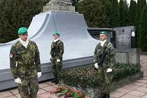 Připomínka Dne válečných veteránů v Hranicích