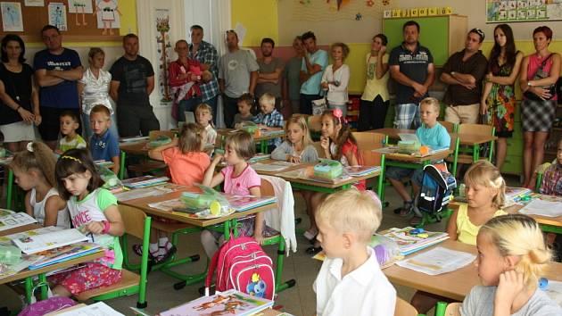 První školní den v Drahotuších