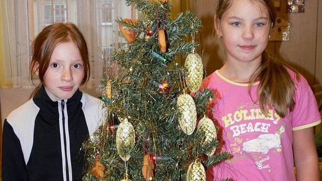 Štědrý večer si děti z Dětského domova v Hranicích užily už tuto středu