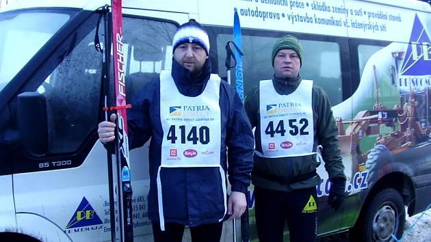 Běžci z Hustopeč se v Bedřichově neztratili.