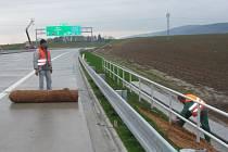 Poslední úpravy probíhají na úseku dálnice D 47 mezi Lipníkem nad Bečvou a Bělotínem.