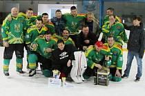 Hokejisté Olšovce vůbec poprvé v historii vyhráli Ligu amatérského hokeje