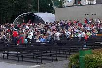 Letní kino v Hranicích