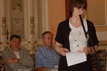 Barvy strany Společně pro Přerov hájila zastupitelka Marta Jandová.