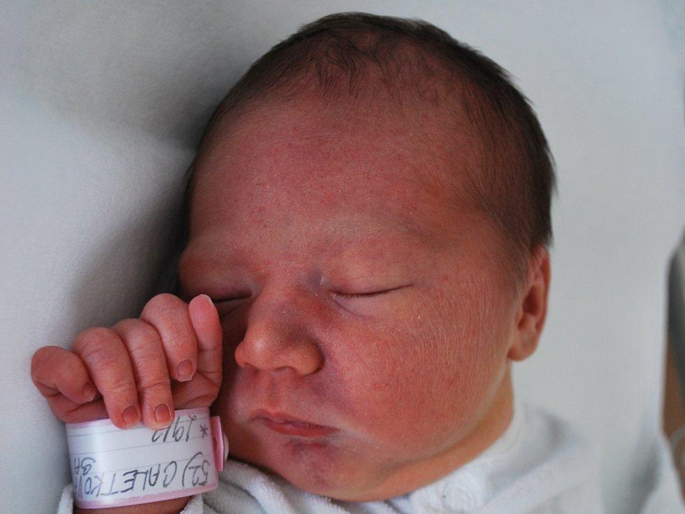 Sárinka Caletková, Turovice, narozena 29. března 2012 v Přerově, míra 48 cm, váha 2 870 g