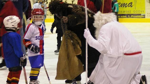 Malí hokejisti mohli mlsat.